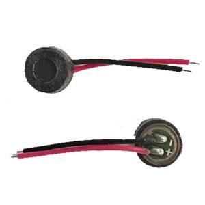 Microfone com fio, peças e componentes para celular