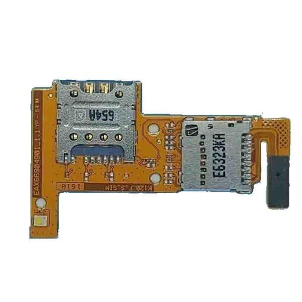 Slot chip LG K4, peças e componentes para celular