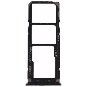 Gaveta Chip Xaomi Mi 7A Preto, peças e componentes para celular