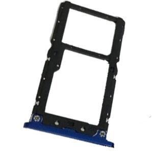Gaveta Chip Xiaomi Mi 8 Lite Azul, peças e componentes para celular