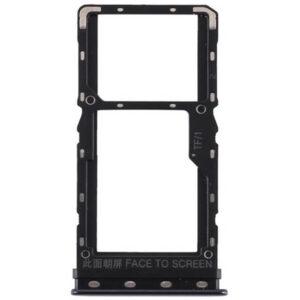 Gaveta Chip Xiaomi Mi A3 Preto, peças e componentes para celular
