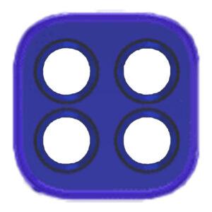 Lente câmera Motorola G9 PLAY Azul, peças e componentes para celular