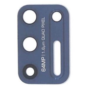 Lente câmera Motorola G9 plus azul, peças e componentes para celular