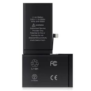 Bateria iPhone X, peças e componentes para celular