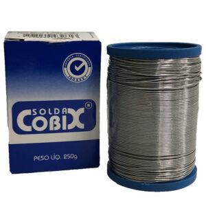 Solda Estanho 1mm 250g Cobix - Otima Qualidade