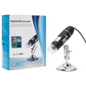 Microscópio Digital 1000x Cabo Celular Android Lupa USB x4 - Rohs