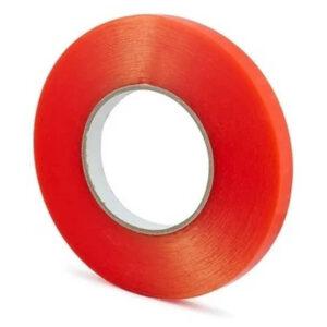 Fita Adesiva Dupla Face 3mm Vermelha Colar Touch LCD, peças e componentes para celular